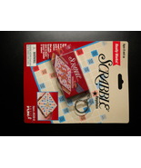 Basic Fun Key Chain Scrabble Miniature Boxed Game as Fob Sealed on Card - $10.99