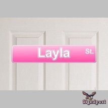 Layla Bedroom Name Sign - - Any Name! [Kitchen] - $7.99