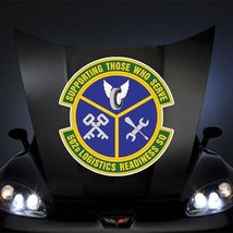 "Air Force USAF 502nd Logistics Readiness Squadron 20"" Huge Decal Sticker - $14.44"
