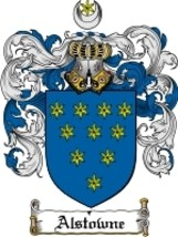 Alstowne Family Crest / Coat of Arms JPG or PDF Image Download - $6.99