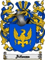 Atienza' Family Crest / Coat of Arms JPG or PDF Image Download