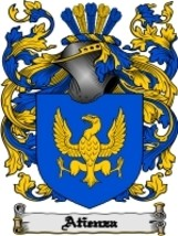 Atienza' Family Crest / Coat of Arms JPG or PDF Image Download - $6.99