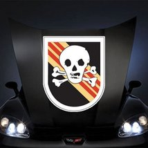 "US Army Vietnam Flash Bright Light Teams 20"" Huge Decal Sticker - $14.44"