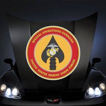 "Marines USMC Special Operations Command SSI 20"" Huge Decal Sticker - $14.44"