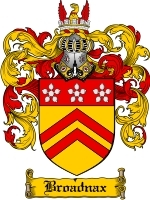 Primary image for Broadnax Family Crest / Coat of Arms JPG or PDF Image Download
