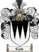 Primary image for Cade Family Crest / Coat of Arms JPG or PDF Image Download