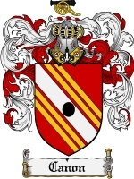 Primary image for Canon Family Crest / Coat of Arms JPG or PDF Image Download