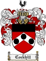 Cockhill Family Crest / Coat of Arms JPG or PDF Image Download