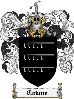 Primary image for Cowne Family Crest / Coat of Arms JPG or PDF Image Download