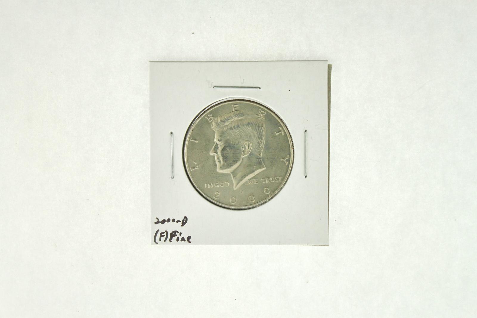 2000-D Kennedy Half Dollar (F) Fine N2-4008-3