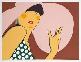 "Kiki Kogelnik ""Lady With Hat"" 1980 - S/N Serigraph - Retail $4.2K - COA ... - $3,250.00"