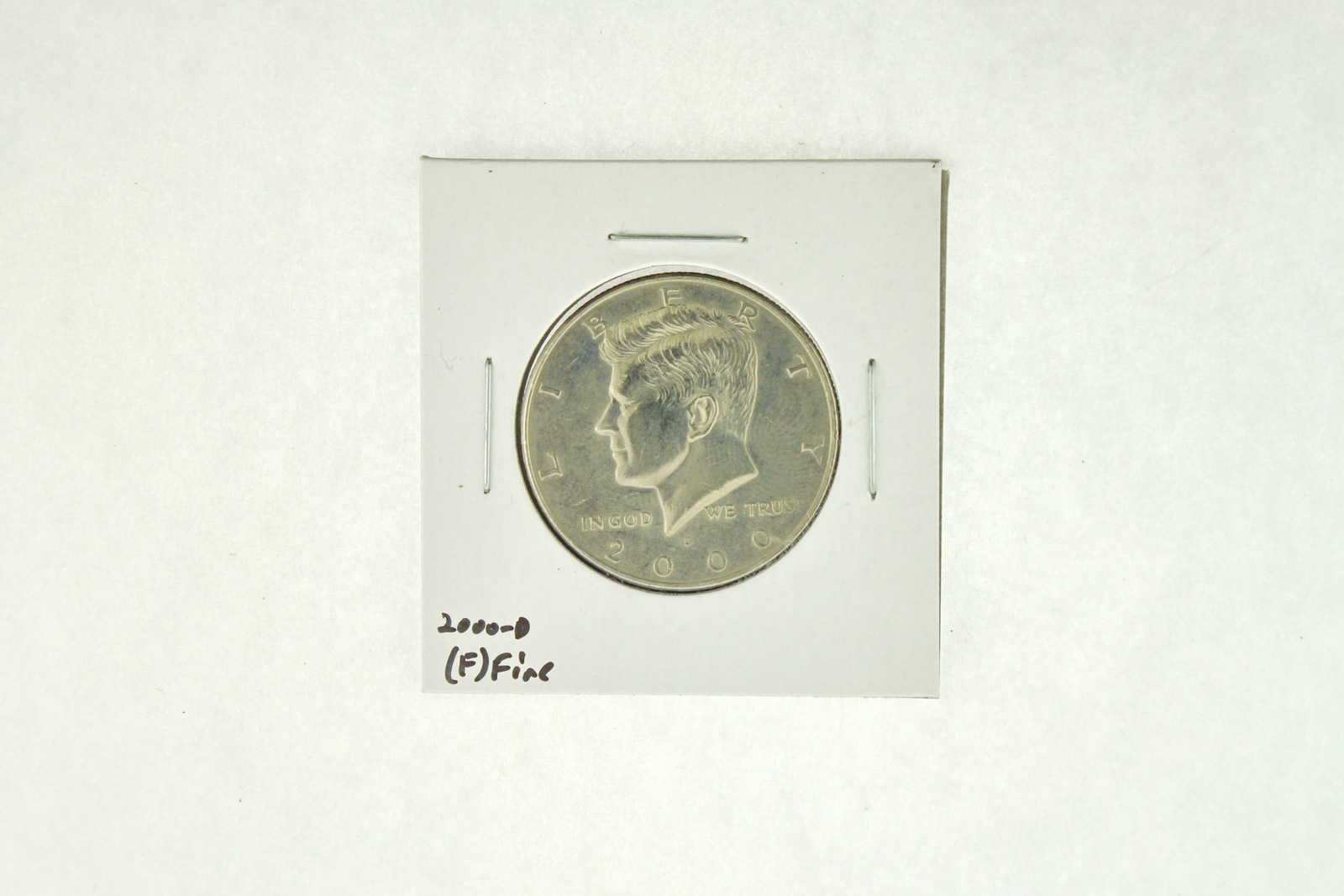 2000-D Kennedy Half Dollar (F) Fine N2-4008-4