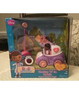 Doc McStuffins Check Up 'N Go Mobile Playset - Just Play, New in Origina... - $44.55