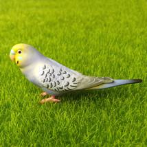 Budgie Parakeet Budgerigar Parrot Bird Fairy Garden Terrarium Decor Figu... - $7.99