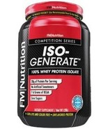 FM Nutrition ISOGenerate 100% Whey Isolate Unflavored 28g Protein Sugar ... - $39.99