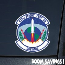 "Air Force USAF 576th Flight Test Squadron 6"" Decal Sticker - $4.99"