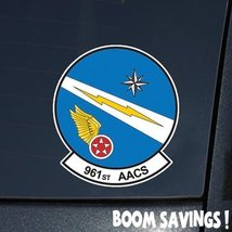"Air Force USAF 961st Airborne Air Control Squadron 6"" Decal Sticker - $4.99"