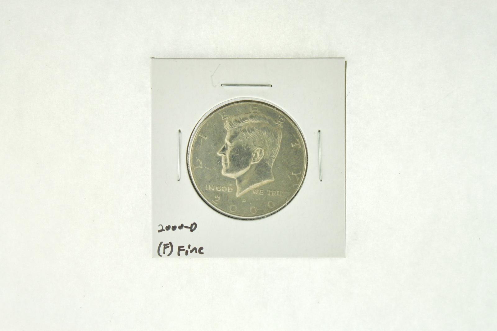 2000-D Kennedy Half Dollar (F) Fine N2-4008-8