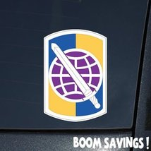 "US Army 358th Civil Affairs Brigade SSI 6"" Decal Sticker - $4.99"