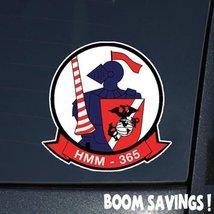 "Marines USMC Aviation SSI HMM 365 () 6"" Decal Sticker - $4.99"