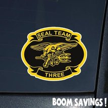 "US Navy Seal Team 3 6"" Decal Sticker - $4.99"