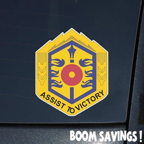 "US Army 497th Support Battalion DUI 6"" Decal Sticker - $4.99"