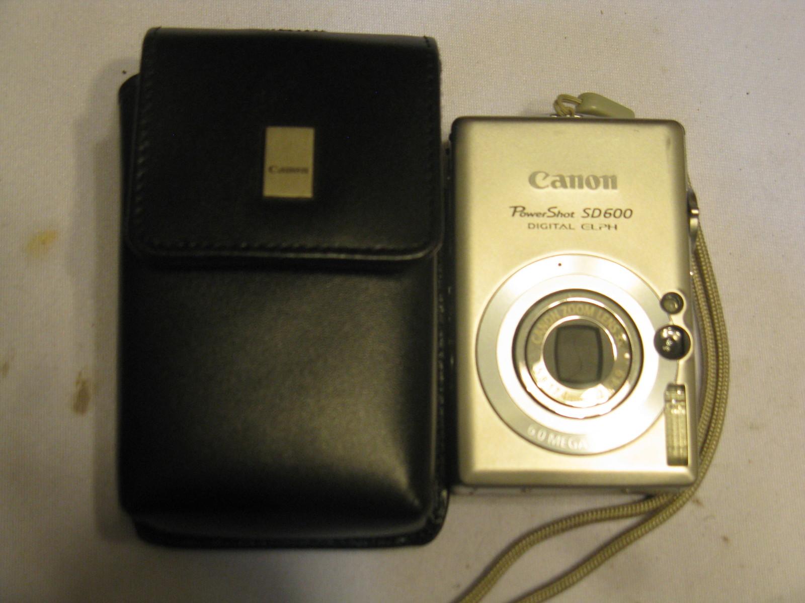 Canon PowerShot SD600 6MP Digital Elph And 16 Similar Items