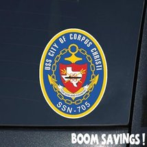 "US Navy USS City of Corpus Christy SSN705 6"" Decal Sticker - $4.99"