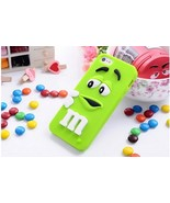 M&M's chocolate cute candy rubber soft silicone cartoon case covers for iphone 6 - $4.99