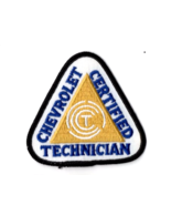 Chevrolet Certified Technician Patch New old stock. Automotive Hot rod M... - $12.99