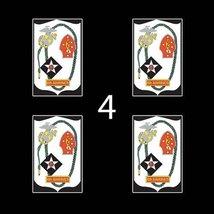 """Marines USMC 6th Marine Regiment SSI 3"""" (4)Four Decal Sticker Lot - $9.99"""
