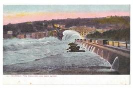 Italy Napoli Via Caracciolo con Mare Agitato Promenade Rough Sea Postcard - $4.99