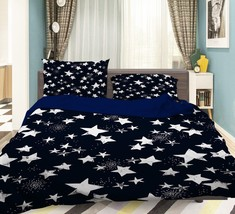 3D Stars 1401 Bed Pillowcases Quilt Duvet Cover Set Single Queen King Size AU - $64.32+