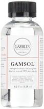 Gamblin Gamsol Odorless Mineral Spirits Bottle, 4.2oz - $8.95