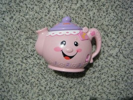 Vintage Fisher Price LAUGH AND LEARN Say Please Talking, Musical toy tea pot - $2.50