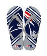 New England Patriots Big Logo Flip Flops - $10.00