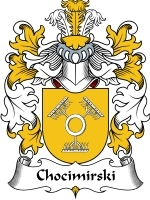Chocimirski Family Crest / Coat of Arms JPG or PDF Image Download
