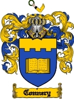 Connery Family Crest / Coat of Arms JPG or PDF Image Download
