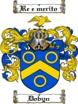 Dobyn Family Crest / Coat of Arms JPG or PDF Image Download - $6.99