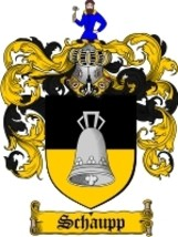 Schaupp Family Crest / Coat of Arms JPG or PDF Image Download - $6.99