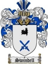 Swindell Family Crest / Coat of Arms JPG or PDF Image Download - $6.99