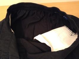 Karen Scott Black Long Skirt Front Buttons Elastic Waist, size 14 image 9