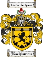 Primary image for Buchannon Family Crest / Coat of Arms JPG or PDF Image Download