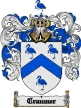 Cranmer Family Crest / Coat of Arms JPG or PDF Image Download - $6.99