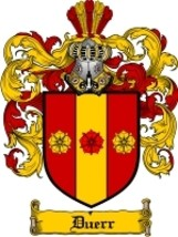 Duerr Family Crest / Coat of Arms JPG or PDF Image Download - $6.99