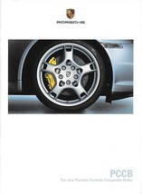 Porsche PCCB Ceramic Composite Brakes brochure catalog 911 Carrera US 2005 - $8.00