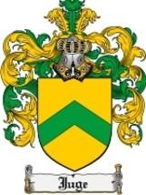 Juge Family Crest / Coat of Arms JPG or PDF Image Download - $6.99