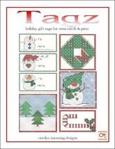 Tagz Holiday Gift Tags 2 cross stitch chart CM Designs - $9.00