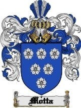 Motta Family Crest / Coat of Arms JPG or PDF Image Download - $6.99