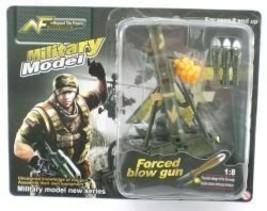 Mortar Tube Rocket Gun 1:8 Scale Military Model Gi Joe Doll Accessory - $4.99